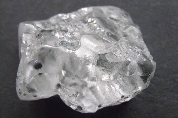 Lại phát hiện viên kim cương trắng