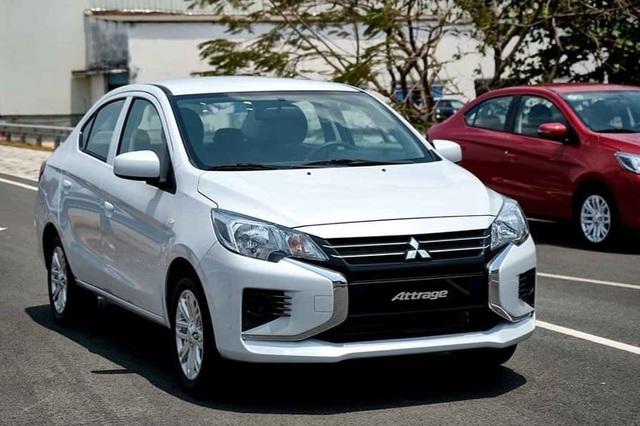 Sedan cỡ B tháng 4: Mitsubishi Attrage lọt top bán chạy, vượt Honda City - 1