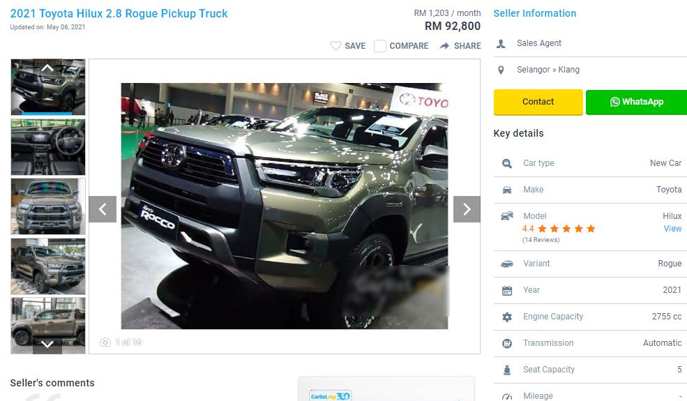 500 triệu đồng mua được những xe nào ở Thái Lan, Indonesia, Malaysia?