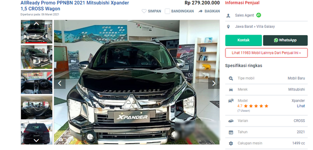 500 triệu đồng mua được những xe nào ở Thái Lan, Indonesia, Malaysia? - 4