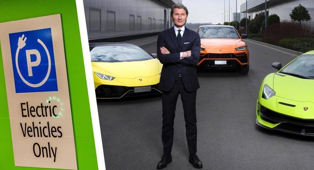 Lamborghini cũng dồn sức làm xe điện - 1