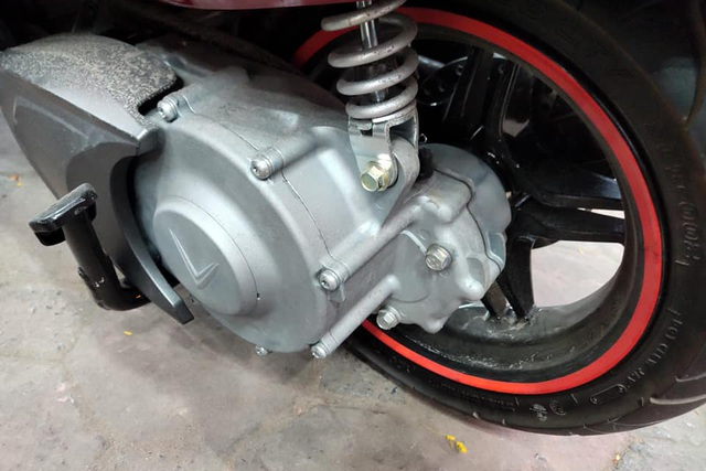 Xe máy điện VinFast Vento tiếp tục lộ diện, thiết kế động cơ gây tò mò - 3