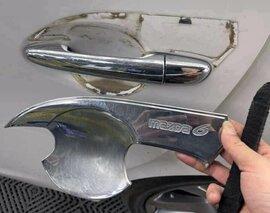 Dùng ốp trang trí cho ô tô, tài xế