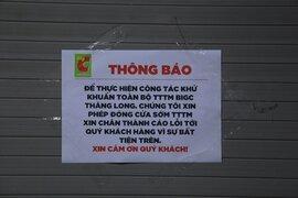 Big C Thăng Long nói gì về việc tạm đóng cửa do ca bệnh Covid-19?