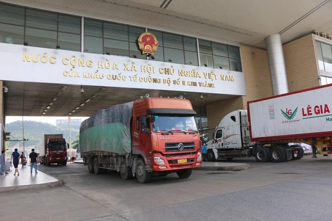 Thu 5 triệu USD nhờ hơn 8.000 tấn vải thiềuxuất qua cửa khẩu Lào Cai  - 1