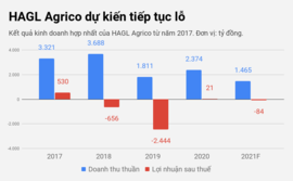 HAGL Agrico dự kiến thua lỗ trong năm đầu về tay tỷ phú Trần Bá Dương