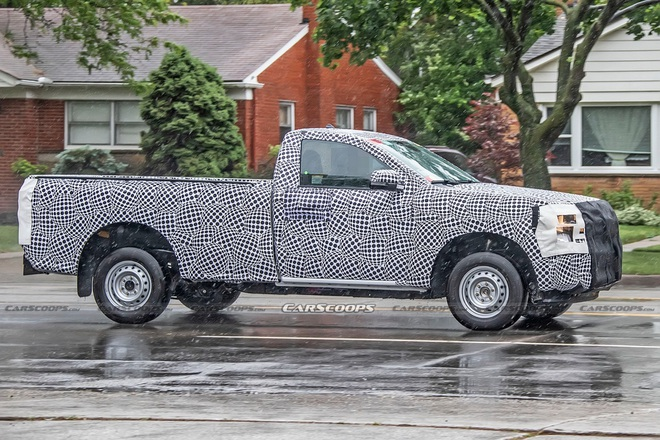 Ford Ranger thế hệ mới sẽ có thêm bản cabin đơn? - 3