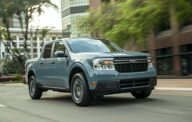 Ford ra mắt mẫu xe bán tải Maverick nhỏ hơn Ranger - 40