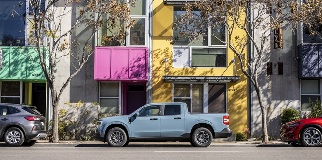 Ford ra mắt mẫu xe bán tải Maverick nhỏ hơn Ranger - 43