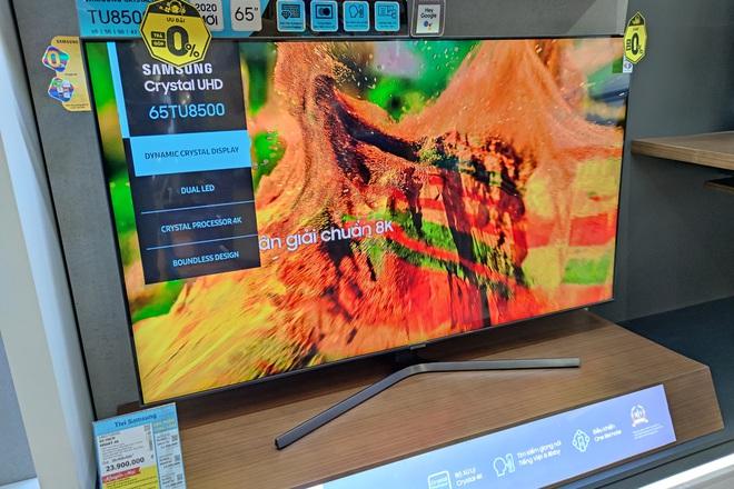 Thị trường TV sôi động những ngày cận kề mùa Euro - 2