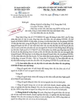 Xôn xao thông tin thu 650.000 đồng cho 2 mũi tiêm vắc xin Covid-19