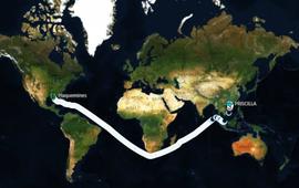 Trung Quốc tắc cảng vì mua quá nhiều ngô