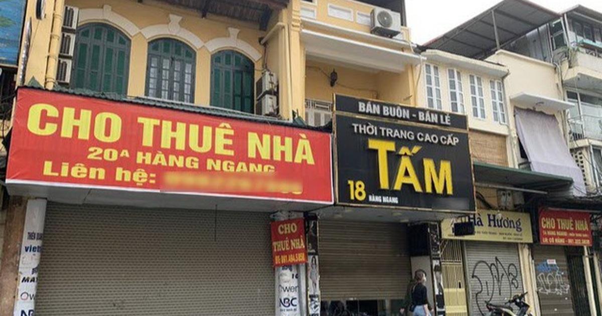 Hà Nội: Nhà thuê giảm nửa giá vẫn