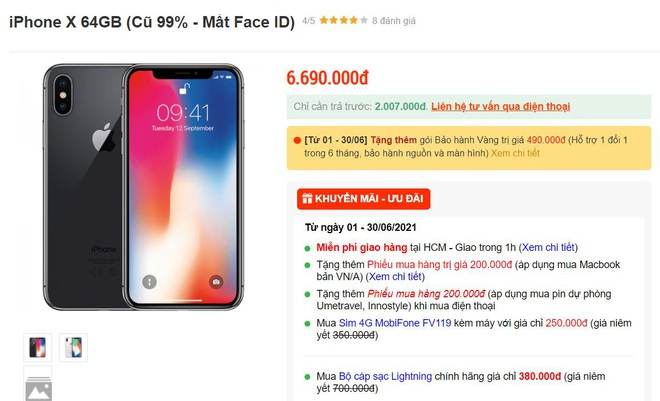 iPhone X, iPhone 11 mất Face ID về Việt Nam với giá rẻ, cẩn thận khi mua - 1