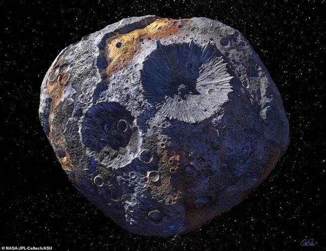 Thực hư về tiểu hành tinh chứa đầy vàng, trị giá hơn 10.000 triệu tỷ USD