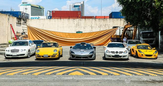 Xem Hải quan Philippines nghiền nát hàng chục xe sang nhập khẩu - 1