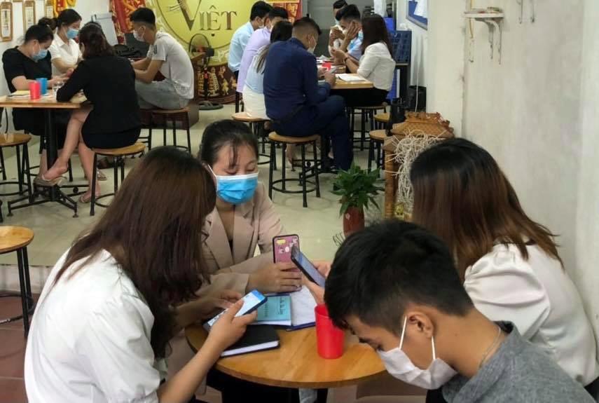 Hà Nội: Tụ tập ở công ty đa cấp, 21 người bị phạt gần 160 triệu đồng