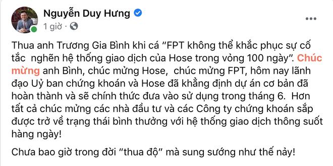 Ông trùm chứng khoán Nguyễn Duy Hưng nhận thua ông Trương Gia Bình - 2