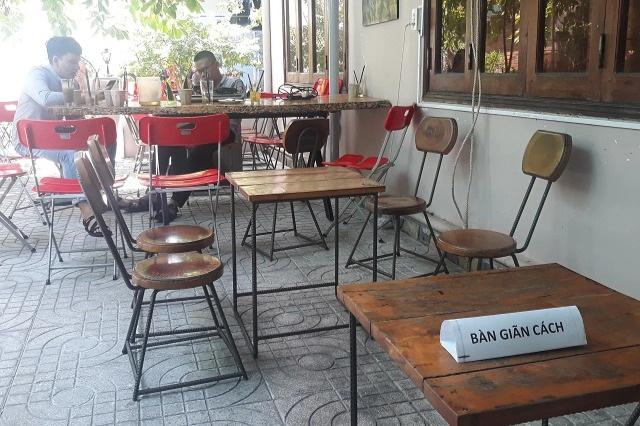Bình Định cấm quán ăn, cà phê phục vụ tại chỗ từ 0h ngày 29/6