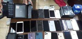 Hơn 100 điện thoại Samsung, iPhone, LG Hàn Quốc