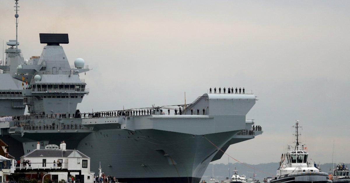 Hai tàu chiến Anh triển khai thường trực ở châu Á