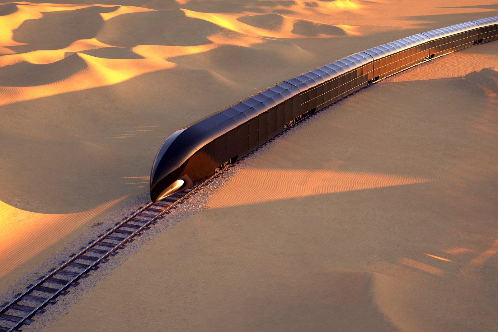 Cung điện trên đường ray giá 350 triệu USD dành riêng cho giới siêu giàu
