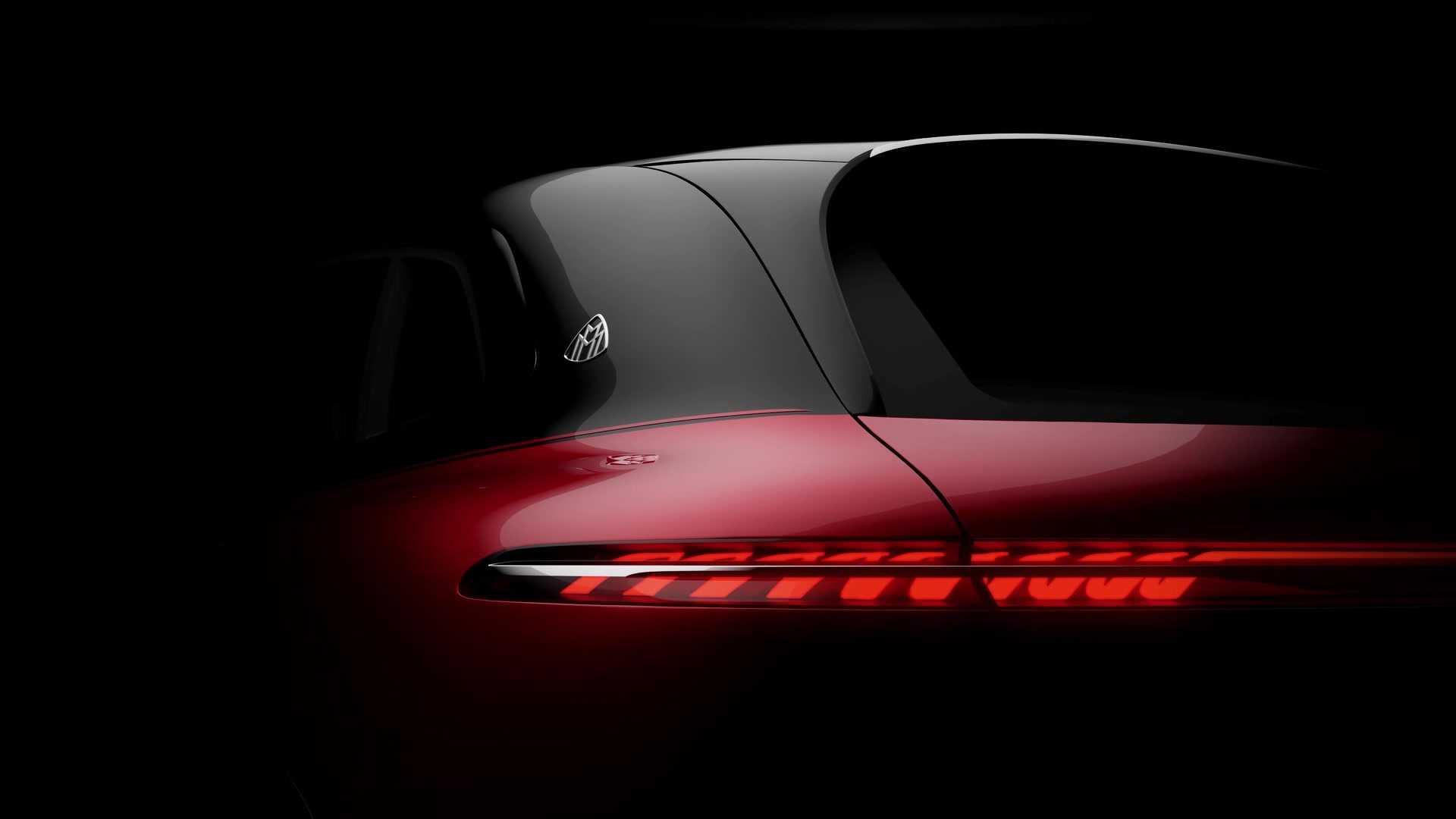 Sắp có SUV chạy điện mang thương hiệu Mercedes-Maybach