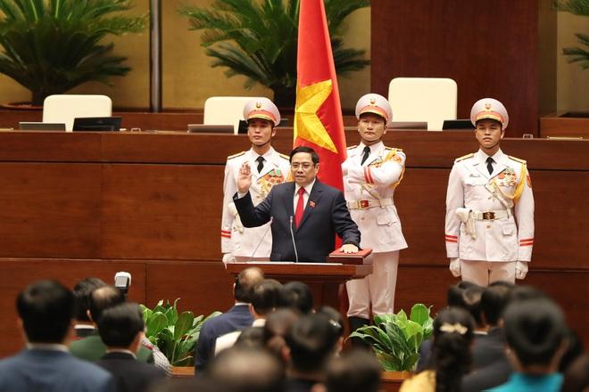 Ông Phạm Minh Chính lần thứ 2 nhậm chức Thủ tướng Chính phủ - 5