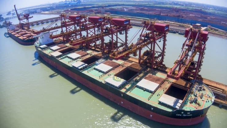 Giá cước vận tải toàn cầu đang tăng nhưng chưa phải là cao