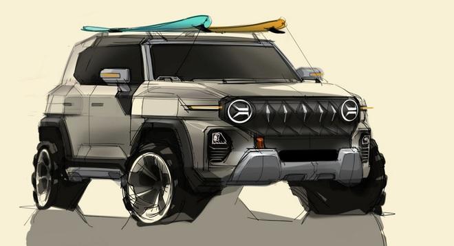 Ssangyong hé lộ thiết kế của mẫu SUV mới - 1