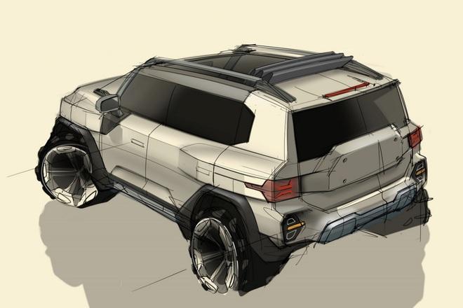 Ssangyong hé lộ thiết kế của mẫu SUV mới - 2