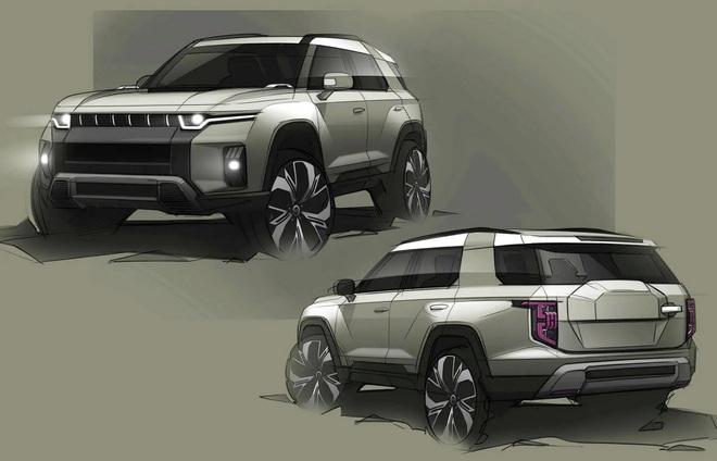 Ssangyong hé lộ thiết kế của mẫu SUV mới - 3