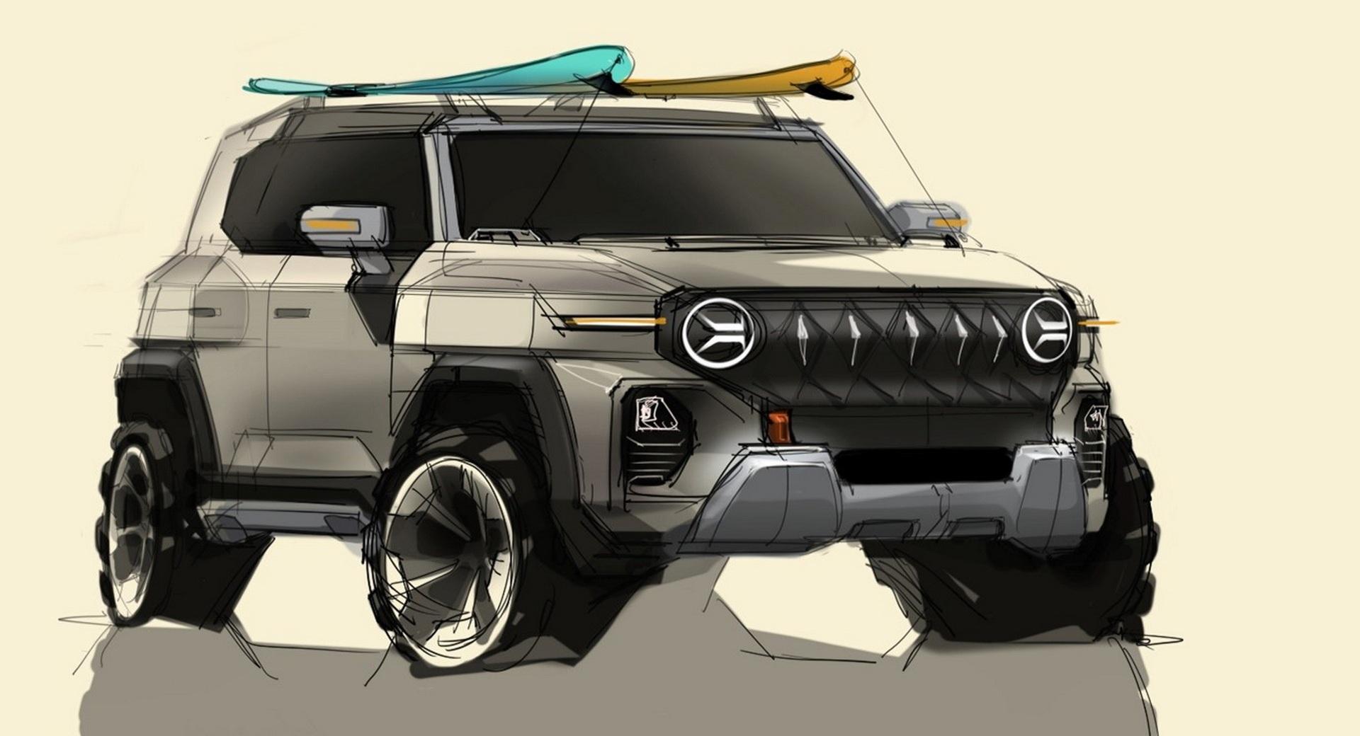 Ssangyong hé lộ thiết kế của mẫu SUV mới