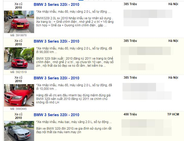 Những mẫu xe mất giá nhanh nhất tại thị trường Việt Nam