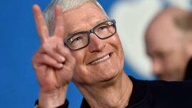 Tim Cook nhận hơn 5 triệu cổ phiếu thưởng Apple trị giá 750 triệu USD