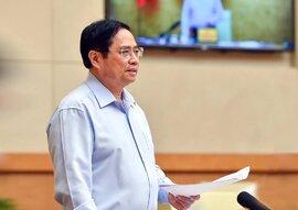 Thủ tướng yêu cầu 10 tỉnh phải nghiêm túc kiểm điểm, rút kinh nghiệm