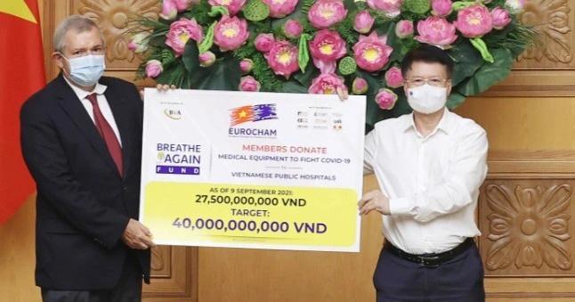 EuroCham: Việt Nam nằm trong ưu tiên hàng đầu về hỗ trợ vắc xin