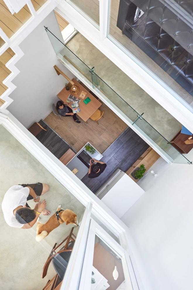 Nội thất đẹp của căn nhà 36 m2 bên ngoài hoài cổ, bên trong hiện đại - 3