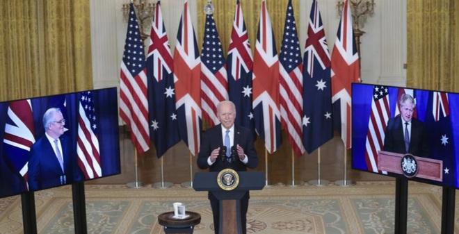 Mỹ, Anh, Australia công bố thỏa thuận quốc phòng lịch sử ở Thái Bình Dương - 1
