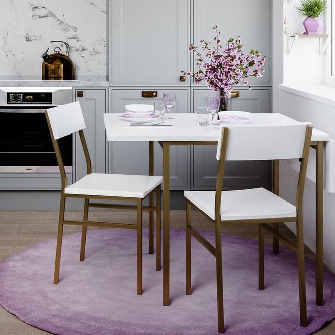 Những thiết kế bàn ăn hoàn hảo cho không gian nhỏ - 2