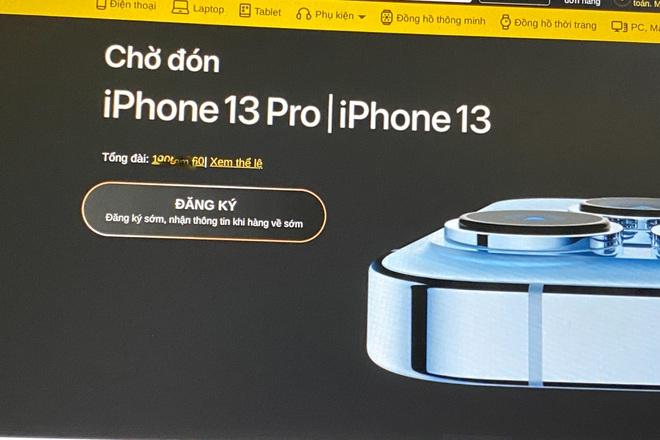 Apple tuýt còi, các đại lý tại Việt Nam dừng nhận cọc iPhone 13 - 1