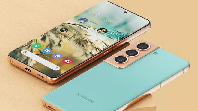 Galaxy S22 sẽ sở hữu thiết kế với viền màn hình siêu mỏng (Ảnh ý tưởng đồ họa sản phẩm).