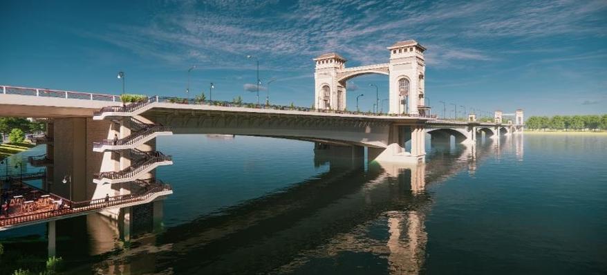 Dự án nghìn tỷ gây tranh cãi, Hà Nội chưa chốt kiến trúc cầu Trần Hưng Đạo