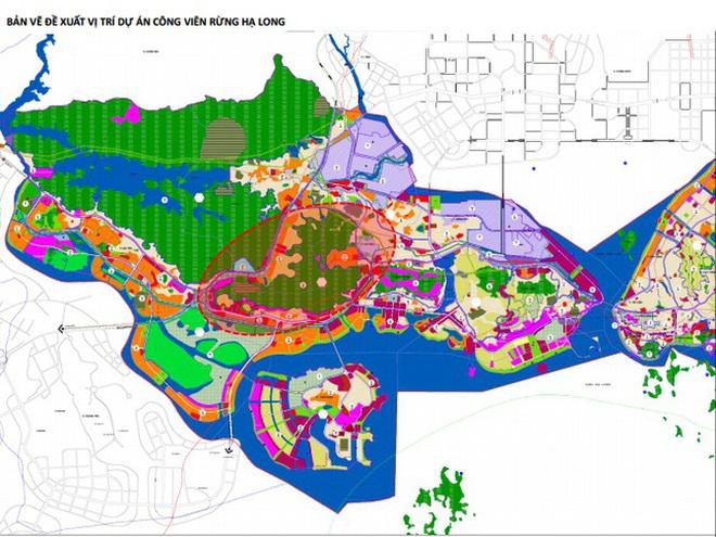 Vingroup muốn làm công viên rừng 650ha ở Hạ Long - 1