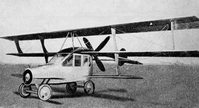 Ô tô bay không còn viễn tưởng, xây gara trên sân thượng nhà bạn