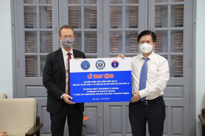 Mỹ đã trao tặng Việt Nam 9,5 triệu liều vaccine, cam kết sẽ hỗ trợ thêm - 2