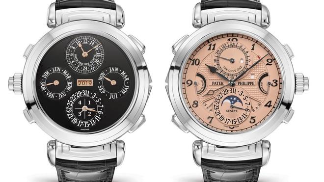 Những chiếc đồng hồ đeo tay đắt nhất thế giới từng được bán đấu giá - 1