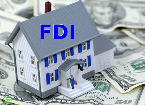 Thu hút FDI giảm gần 1 nửa trong quý I/2015