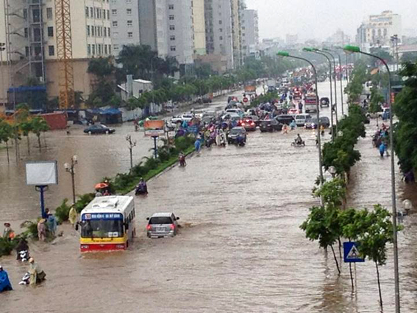 Hà Nội có khả năng tái diễn lũ lụt lịch sử trong bão số 3