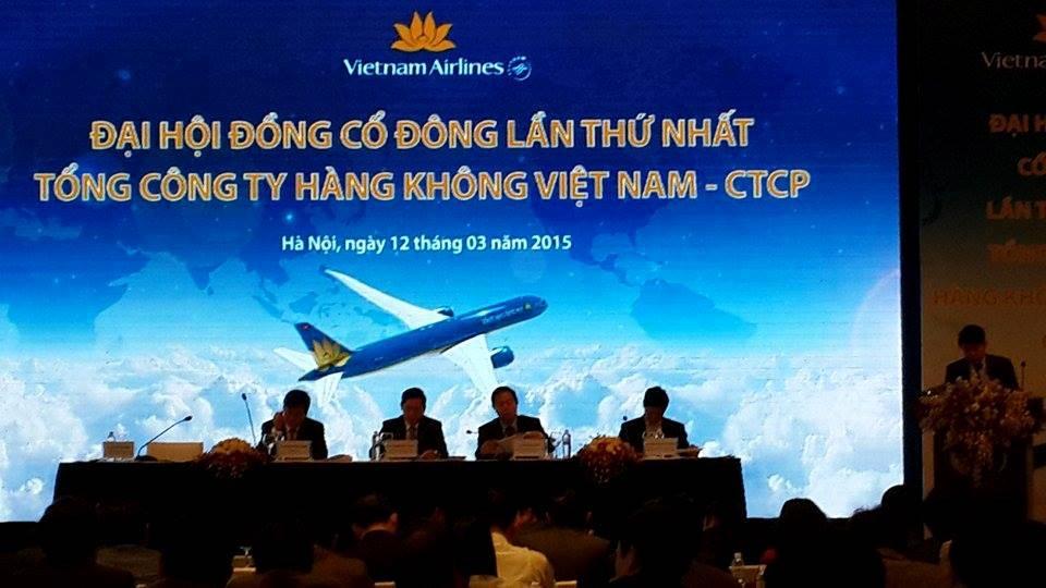 ĐHCĐ Vietnam Airlines: Đại diện Techcombank vào HĐQT, Vietcombank vào Ban Kiểm soát